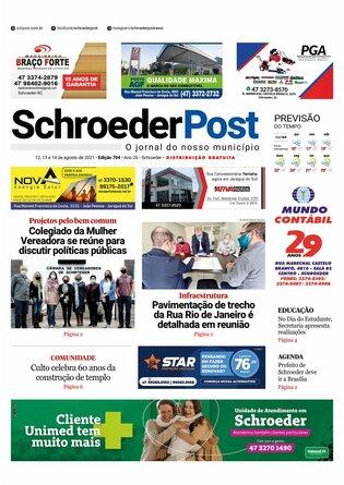 Schroeder Post - Edição 12/08/2021