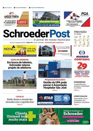 Schroeder Post - Edição 19/08/2021