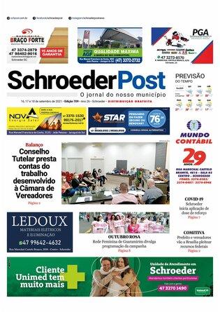 Schroeder Post - Edição 16/09/2021