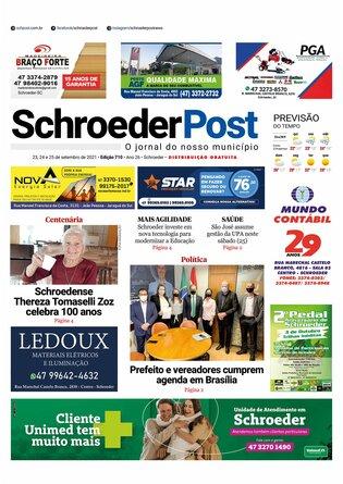 Schroeder Post - Edição 23/09/2021