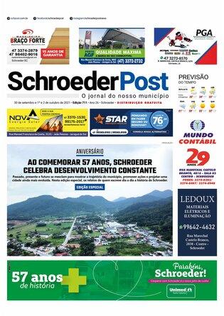 Schroeder Post - Edição 30/09/2021