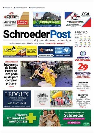 Schroeder Post - Edição 14/10/2021