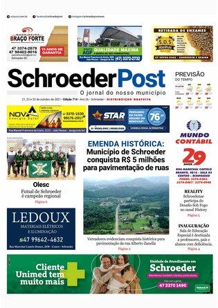 Schroeder Post - Edição 21/10/2021